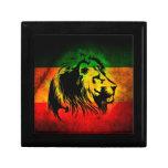León de Rasta del reggae Cajas De Joyas
