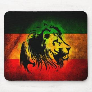 León de Rasta del reggae Alfombrilla De Ratones