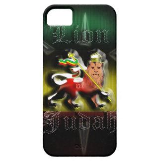 León de Rastafari de la casamata Cas de Judah iPhone 5 Case-Mate Cobertura