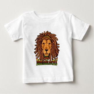 León de Rastafarian de Judah Playera De Bebé