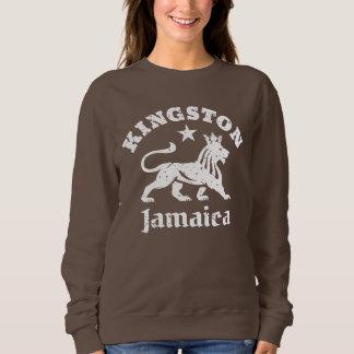 León de Rastafarian del vintage de Kingston Remera