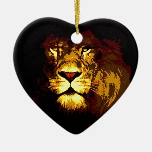 León Ornamento Para Reyes Magos