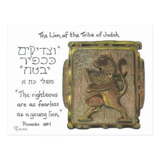 León del anillo de Judah Postal