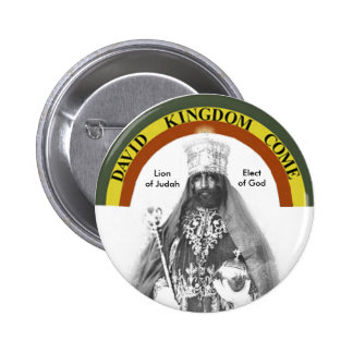León del botón de Judah Pin Redondo De 2 Pulgadas