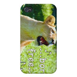 León del canto iPhone 4 carcasas