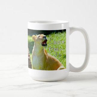 León del canto taza de café