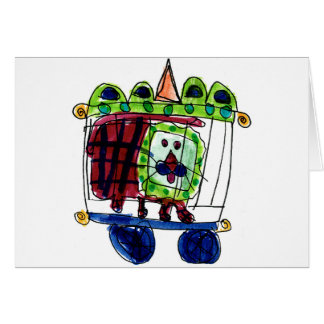León del circo • Daneille Brito, edad 6 Tarjeta Pequeña