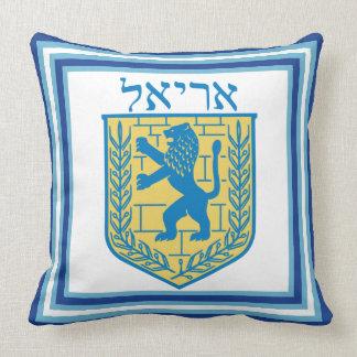 León del emblema Ariel de Judah Cojín Decorativo