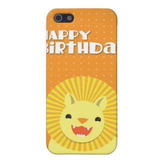 LEÓN del feliz cumpleaños iPhone 5 Fundas