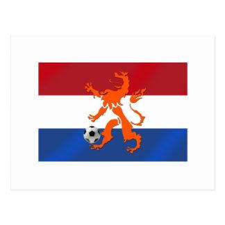 León del holandés de Oranje del fútbol del fútbol  Postales