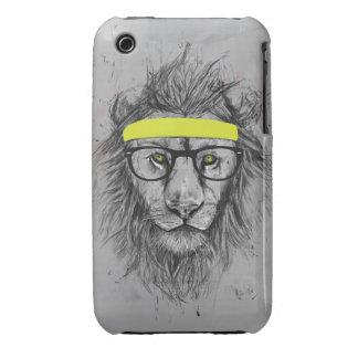 león del inconformista Case-Mate iPhone 3 funda