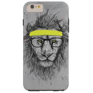 León del inconformista funda resistente iPhone 6 plus