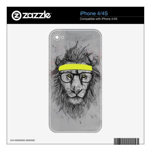 León del inconformista iPhone 4S skin