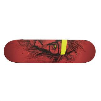 """león del inconformista (rojo) patineta 7 1/8"""""""