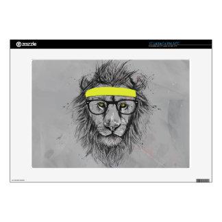León del inconformista skins para 38,1cm portátiles