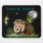 León del mousepad del judah alfombrillas de raton