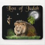 León del mousepad del judah alfombrillas de ratones