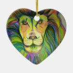 león del multicolo ornato