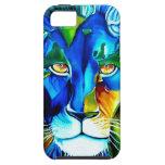 león del mundo iPhone 5 funda