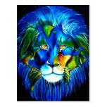 león del mundo postal
