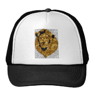 León del oro con plata