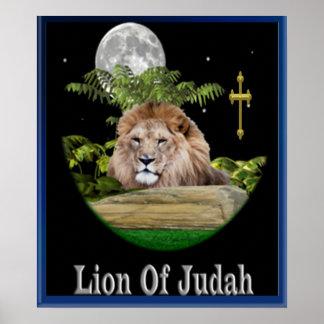 León del poster de Judah