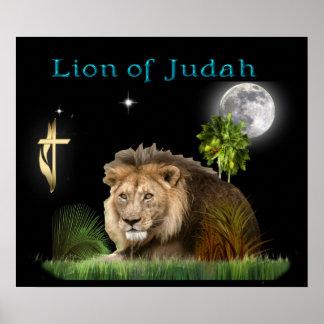 : León del poster de Judah