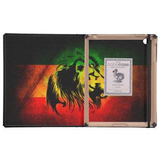 León del reggae de Cori Reith Rasta iPad Fundas