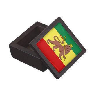 León del reggae de Rasta de Judah Caja De Recuerdo De Calidad