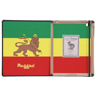 León del reggae de Rasta de Judah iPad Cárcasas