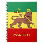 León del reggae de Rasta de Judah Libreta