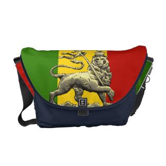 León del reggae de Rasta del bolso del carrito de  Bolsa De Mensajería