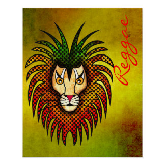 León del reggae póster