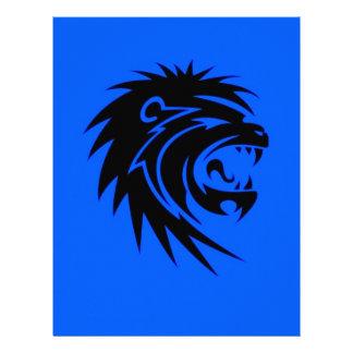 León del rugido membretes personalizados