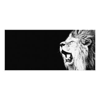 León del rugido lona