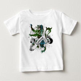 León del tartán de Lamont T Shirts