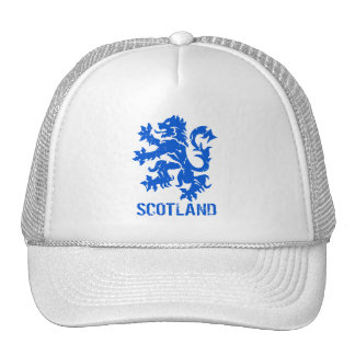 León desenfrenado apenado de Escocia del estilo Gorras