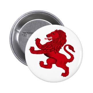León desenfrenado de Escocia Pin