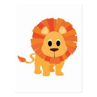 León dulce postal
