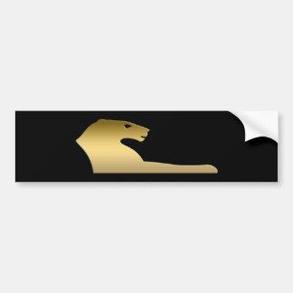 León egipcio antiguo - diosa Sekhmet Pegatina Para Auto