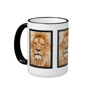 LEÓN EL SALVAJE TAZA DE CAFÉ