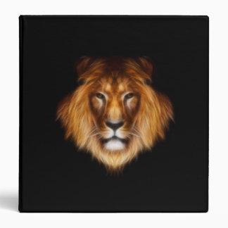 León en carpeta negra