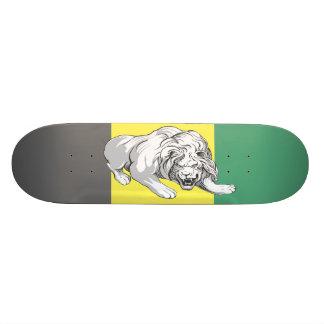 León en DEK manchado color (colores jamaicanos) Tablas De Patinar