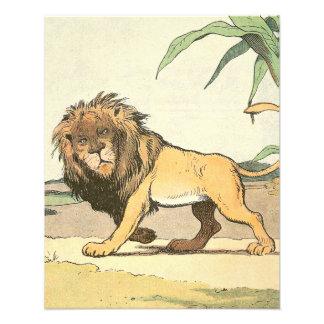 León en el libro de la historia de la selva fotografía