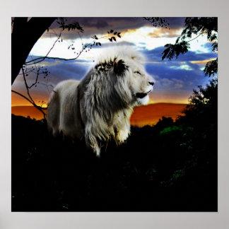 León en la selva póster