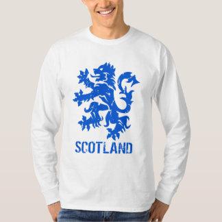 León escocés apenado de la mirada desenfrenado playera