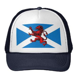 león escocés gorros bordados