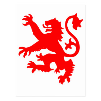 León escocés postales
