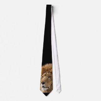 León feroz corbata personalizada