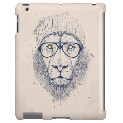 León fresco funda para iPad